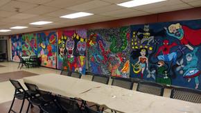 Murals on display!