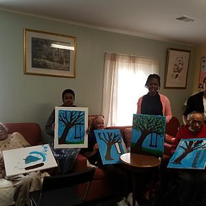 Senior's Painting