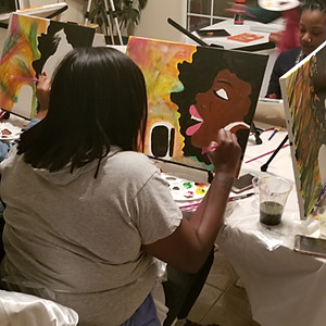 TeeTee's Girl's Paint Night