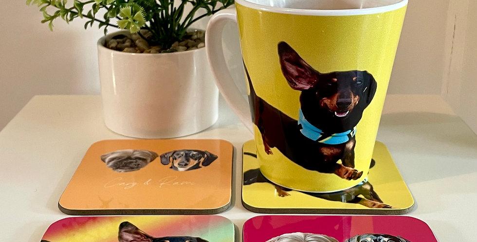 Mug/Coaster Sets