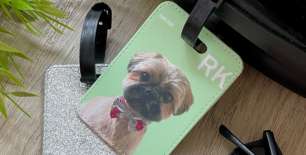 The Classic Pet Luggage Tags