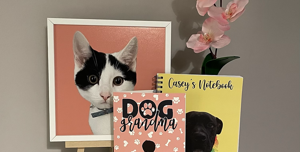 Card, Notebook & Photo Tile Gift Set