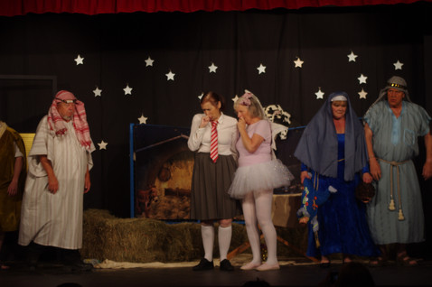 Hollingsborough School Nativity Play By Archie Wilson.