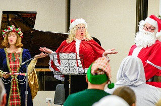 "Grove Players members starred in local ""Winter Wonderland"" Program"