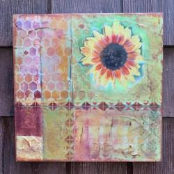 Sunflower Honeycomb