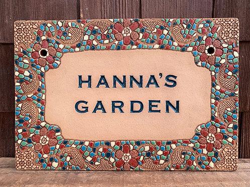Custom House Sign BOHEMIAN