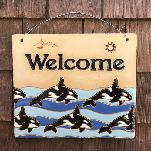 Welcome Sign ORCA