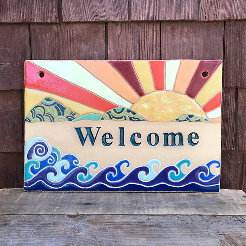 """Welcome Sign """"SUNRISE"""""""