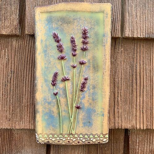 Lavender Encaustic Tile