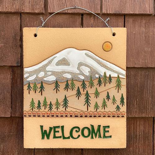 Welcome Sign MOUNT RAINIER