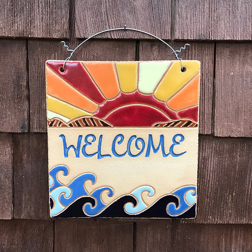 Mini Welcome Sign SUNSET