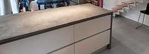 Mortex renovatie keukenblad keuken