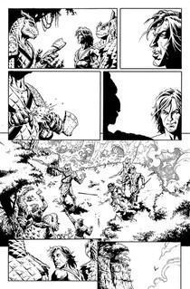 """""""Pellucidar: Wings of Death"""" #01, page 04"""