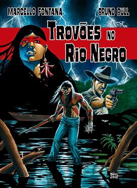 """""""Trovões no Rio Negro"""" cover"""