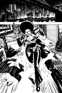 """Foxy Brown: Vampire Hunter"" page 01"