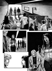 """""""Never Die Club - A Cosmonauta"""" page 12"""