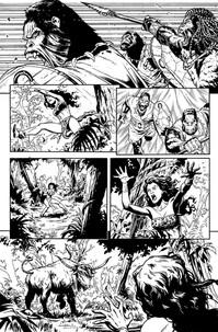 """""""Pellucidar: Wings of Death"""" #01, page 13"""