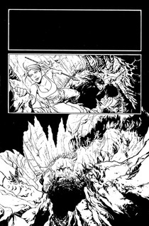 """""""The Land That Time Forgot: Fear on Four Worlds"""" page 01"""