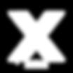 Xandre Logo White Sticker.png
