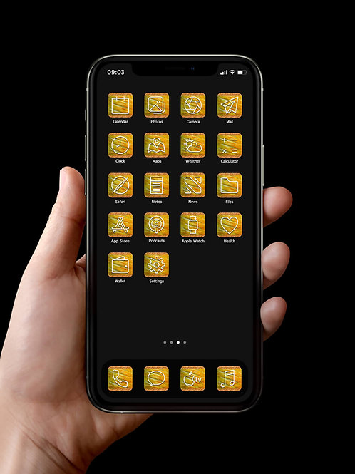 i0S 14 and android sausage roll app icon packs