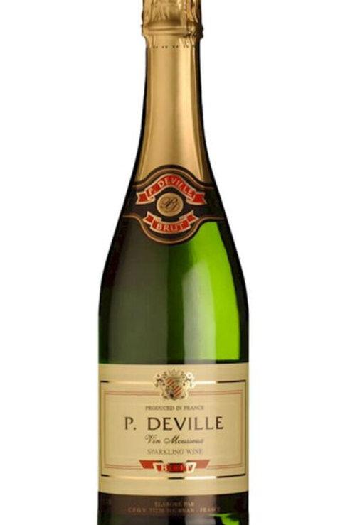 Bottle of Pierre Deville French Brut Sparkling