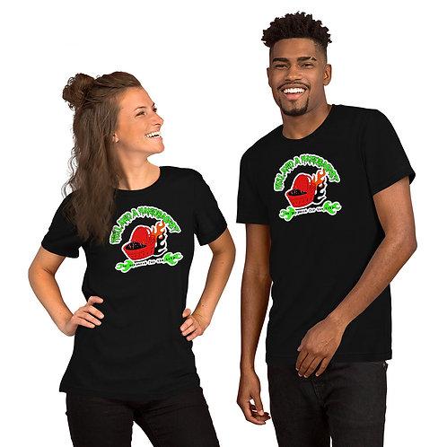 Short-Sleeve Unisex Hell and a Handbasket Logo T-Shirt