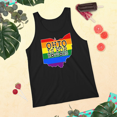 Ohio is for Bottoms Unisex Tank Top