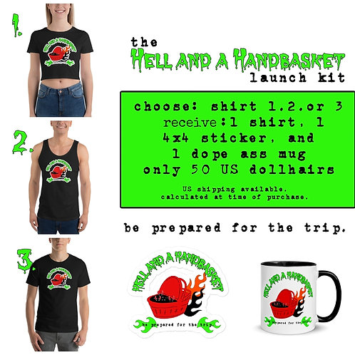 Hell and a Handbasket Launch Kits