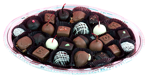 Small Chocolate Tray (in store purchase only)