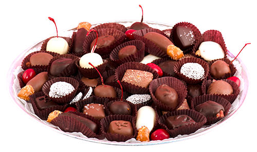 Large Chocolate Tray (in store purchase only)