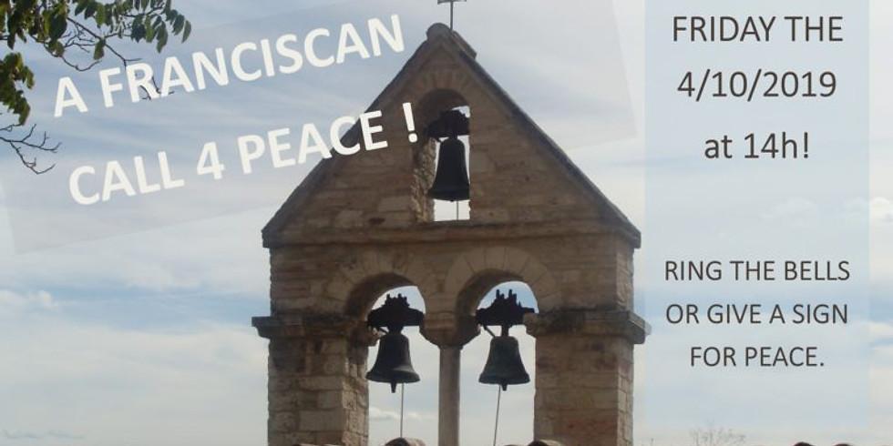 Que toutes les cloches sonnent pour dire la Paix ...