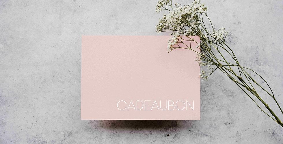 Cadeaubon t.w.v. €50