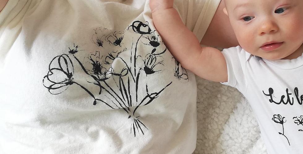 T-shirt  FLOWERLOVE - volw.