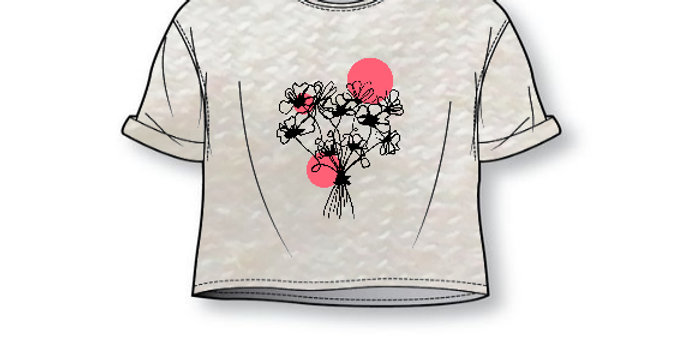 Cropped top  POPPYLOVE - volw.