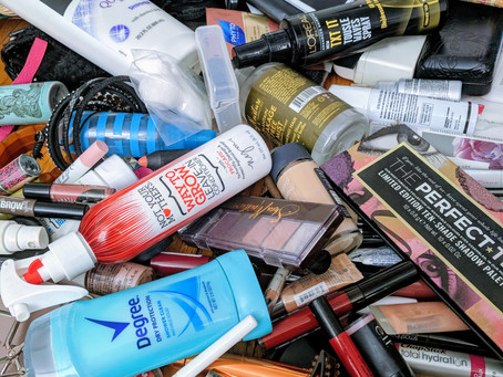 Spring Cleaning: Minimizing Your Beauty Products