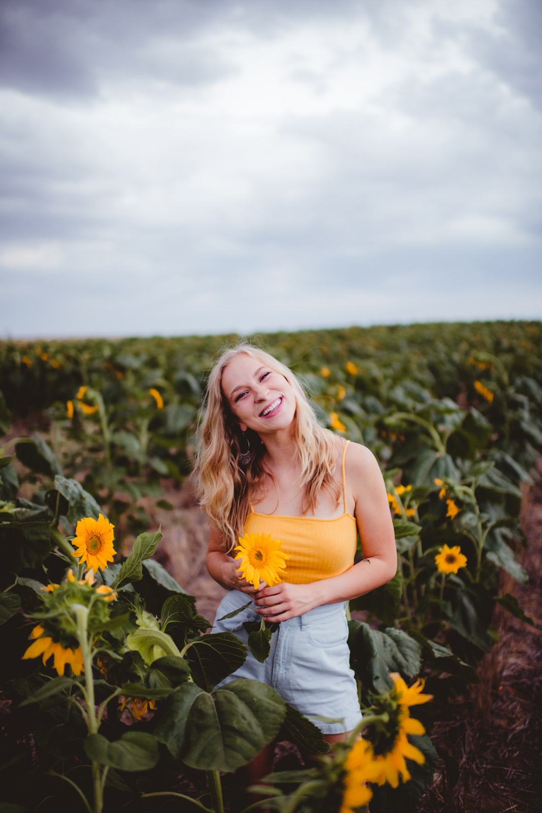 Nikki Brandt Sunflower Session-13