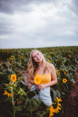 Nikki Brandt Sunflower Session-13