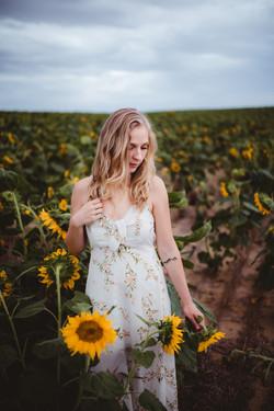 Nikki Brandt Sunflower Session-6
