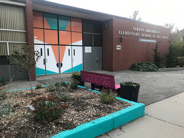 Mural Enlivens Fox Point Elementary