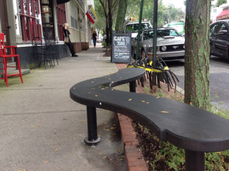 Benches Foster Community on Wickenden