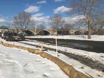 Shoreline Restoration to Finish This Month