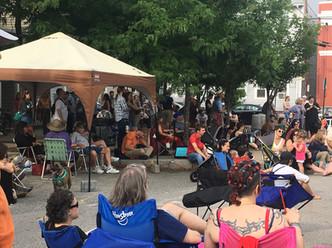 Fane Tower and Folk Fest Draw Crowds