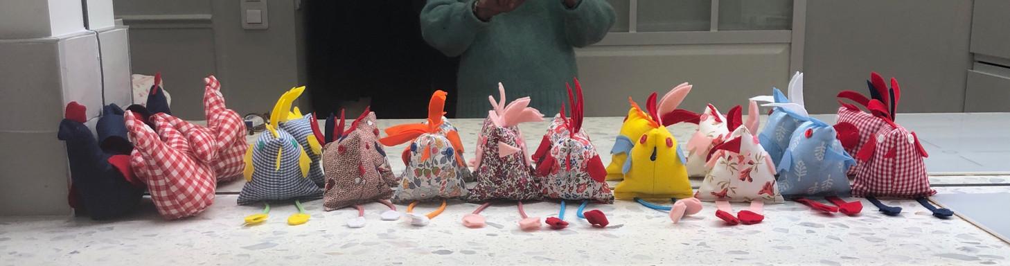 Poulettes de Pâques