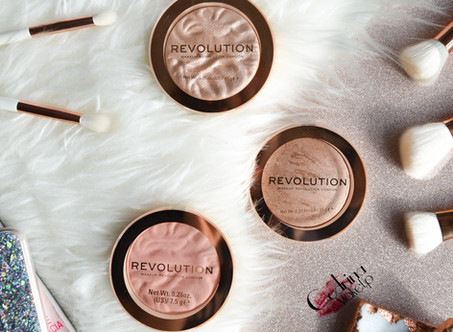 Revolution Reloaded Blush, Highlighter & Bronzer