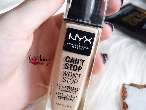 Nyx Can't Stop Won't Stop Foundation | Review base de maquillaje