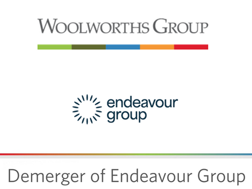 Portfolio Change - Demerger of EDV from WOW