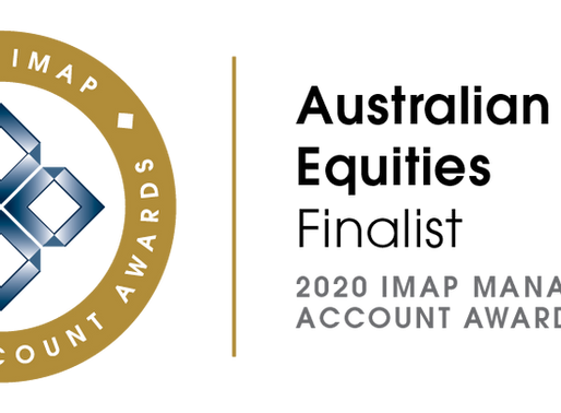 IMAP Awards - Blackmore Capital nominated as a finalist