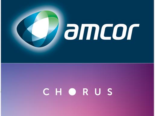 Portfolio Changes - Increased Amcor (AMC) | Sold Chorus (CNU)
