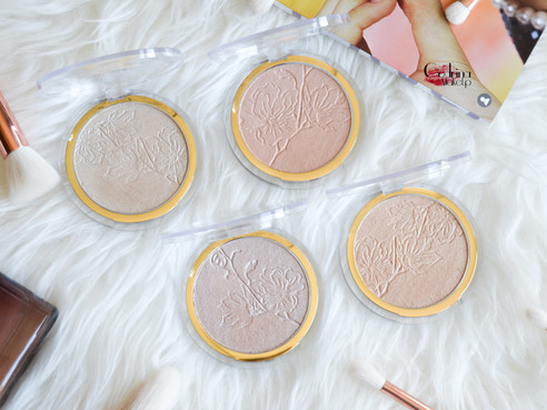 Nuevos iluminadores | Catrice Glow in Bloom | Review