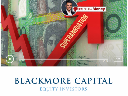 Blackmore Capital on SBS for the market movements